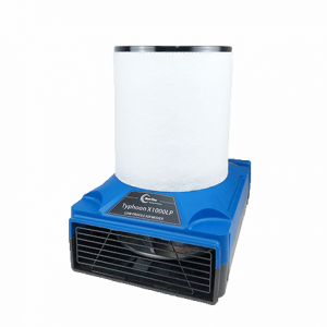 Suntec Typhoon X1000LP Air Mover + HEPA Filter (AIR SCRUBBER!)